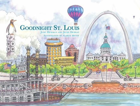 St louis locally handmade baby and toddler gifts goodnight st louis childrens book negle Image collections