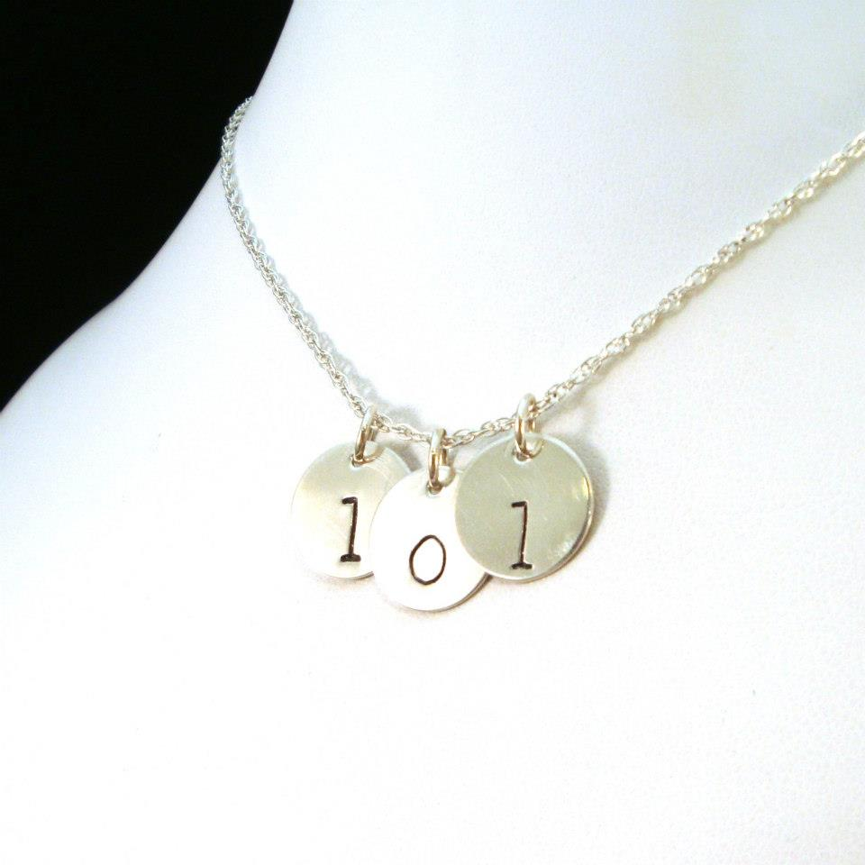 Hand Stamped Jewelry Necklaces