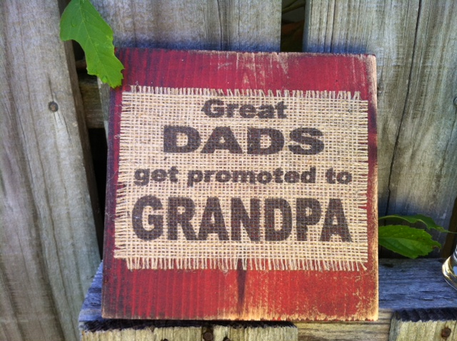 Burlap Wood Plauqes with Quotes