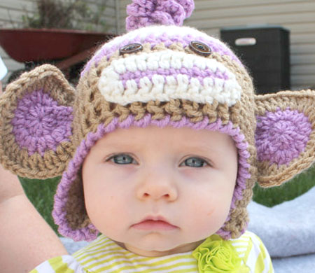 Crochet Character Animal Hats by Sunshine