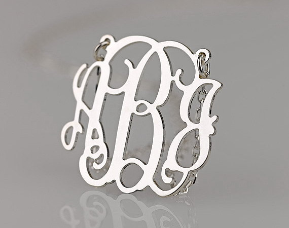 Monogram Jewelry Necklaces