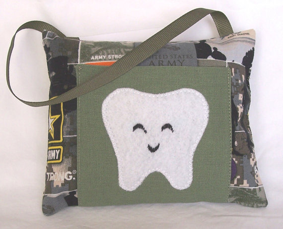 Army Tooth Fairy Pillow
