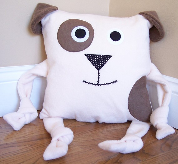 Animal Character Pillow : Handmade kids character throw pillows