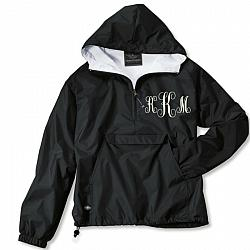 Personalized Lined Rain Jacket Pullover