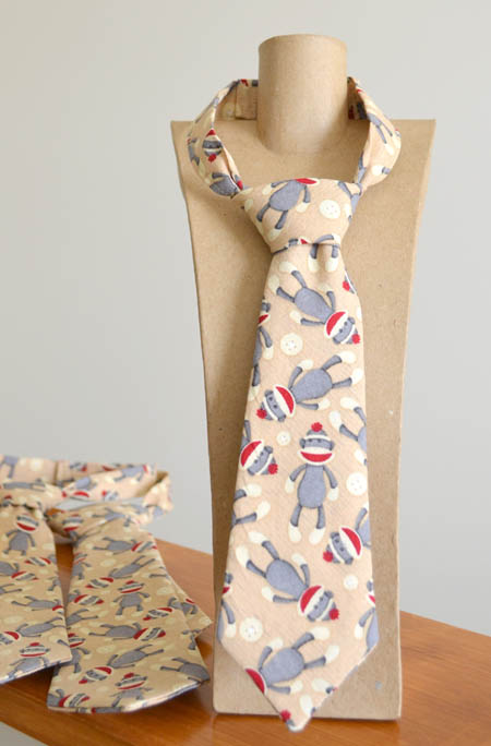 Sock Monkey Tie by Red Trike