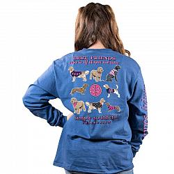 Simply Southern Youth Dog Best Friends Shirt