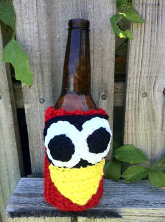 St. Louis Fredbird Beer Bottle Koozie