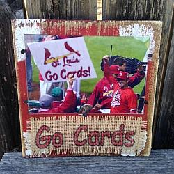 St. Louis Cardinals Picture Frame