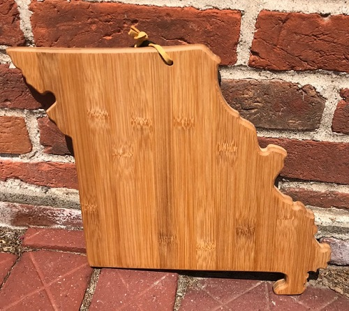 Missouri Cutting Board Wooden Bamboo