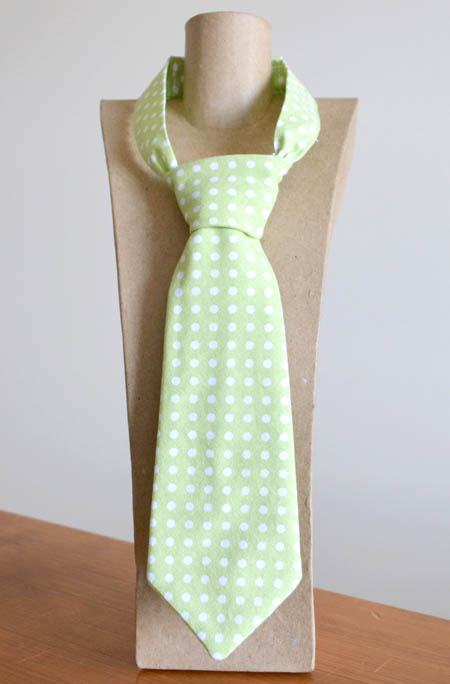 Green Dot Tie from Red Trike