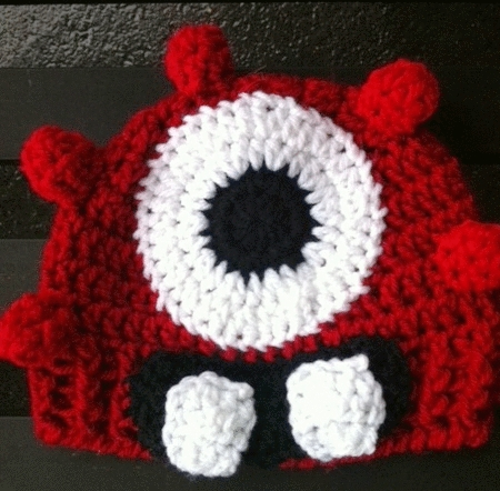 Yo Gabba Gabba Crochet Hat by Sunshine