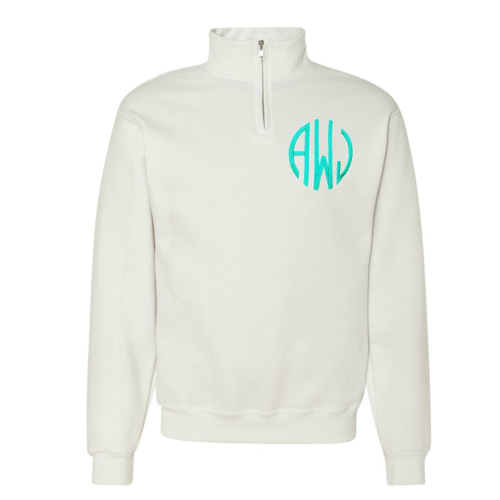 Personalized 1/4 Quarter Zip Sweatshirt